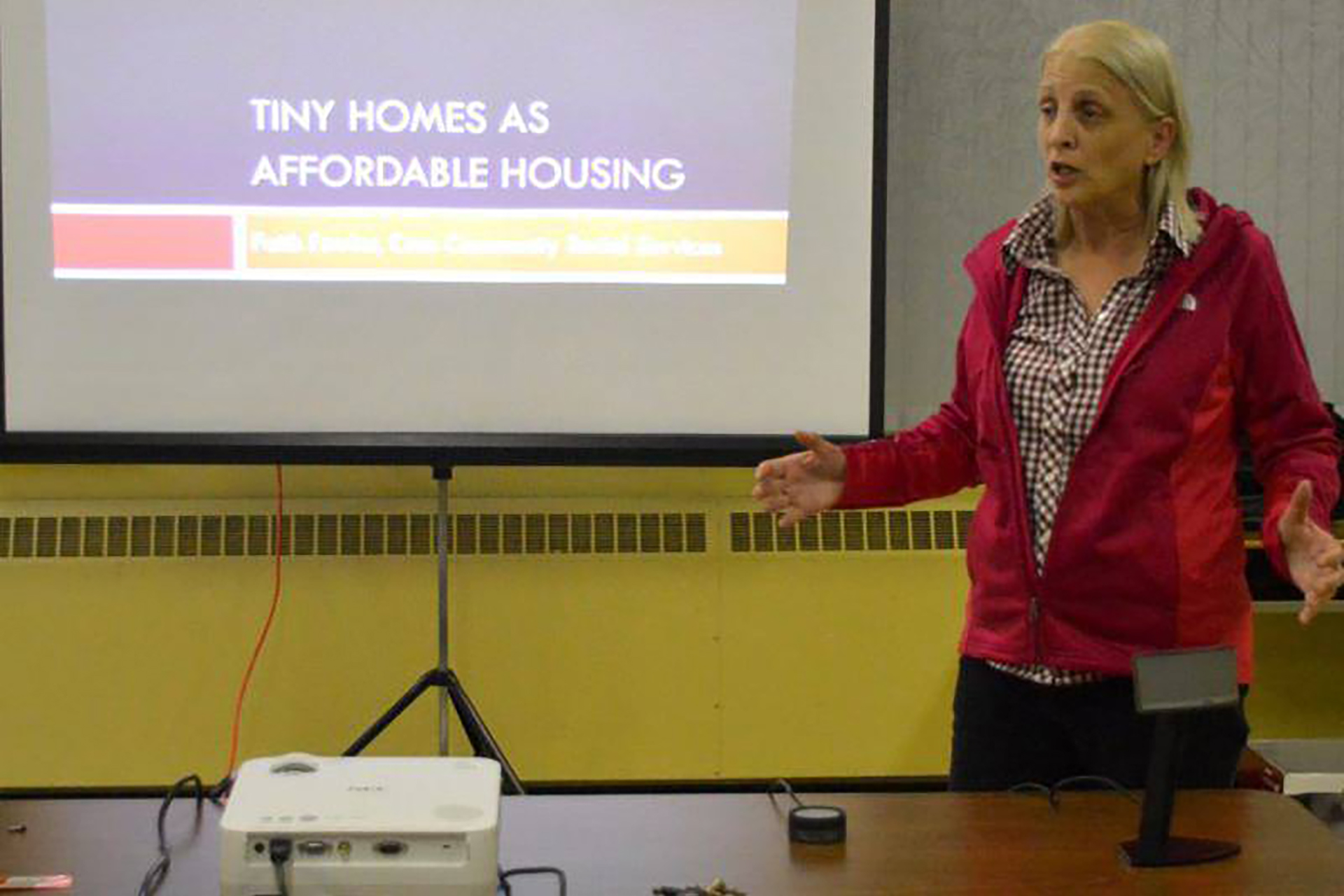 Tiny homes, affordable housing